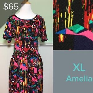 NWT XL LuLaRoe Amelia dress